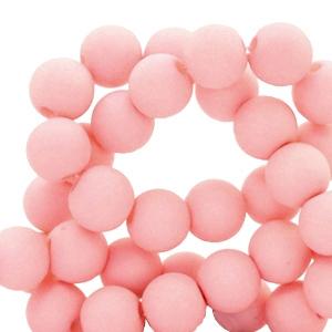 Acryl kralen 4mm salmon pink