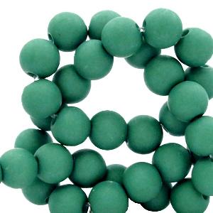 Acryl kralen 6mm bistro green