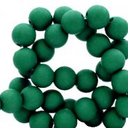 Acryl kralen 6mm fir green