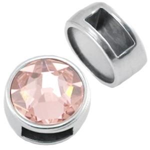 DQ schuiver zilver voor 7mm steen
