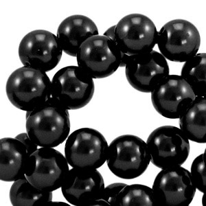 Glasparels 8mm black