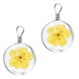 Hanger gedroogde bloem yellow