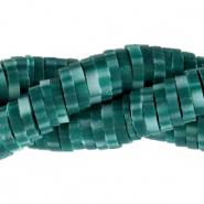 Katsuki kralen 4mm dark teal green