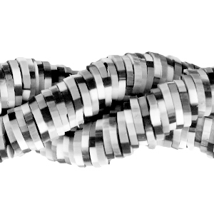 Katsuki kralen 6mm anthracite black