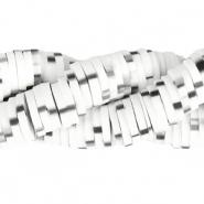Katsuki kralen 6mm bright white black