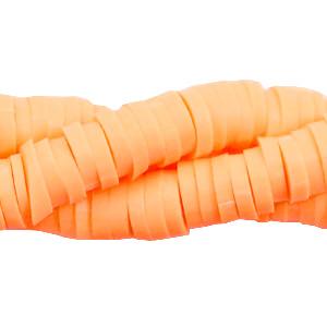 Katsuki kralen 6mm neon orange