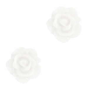 Kraal roosje bright whie