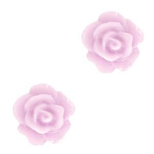 Kraal roosje lilac pink