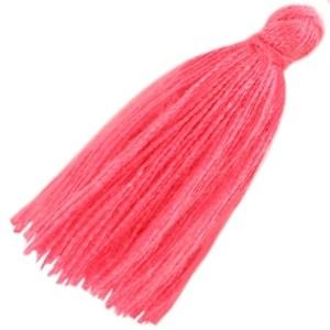 Kwastje 30mm magenta pink