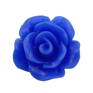 Roosje kraal cobalt blue