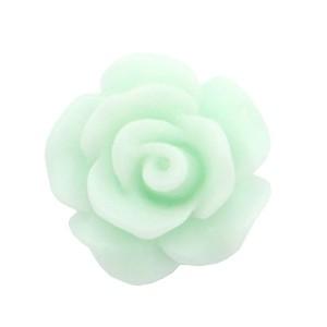 Roosje kraal light mint green