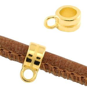 Schuiver één oog 3,8mm goud