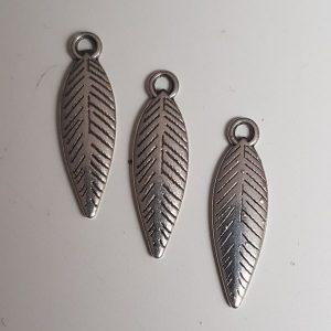 Bedel blad zilver