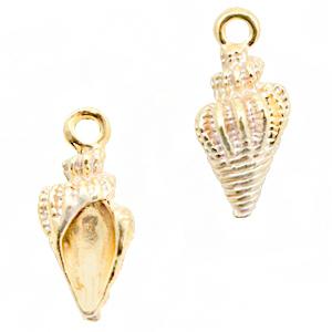 Bedel schelp white gold