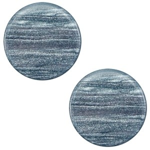 Cabochon 20mm sparkle dust rustic blue