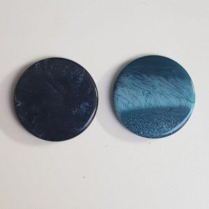 Cabochons 20mm blauw