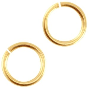 DQ buigring 5.5mm goud
