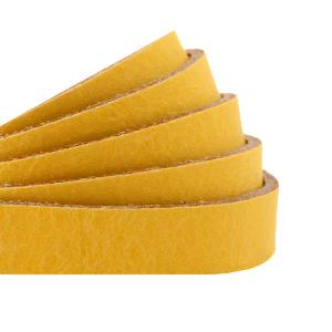 DQ plat leer 10mm ochre yellow