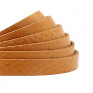 DQ plat leer 5mm natural brown