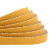DQ plat leer 5mm ochre yellow