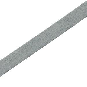 DQ plat leer suède 5mm grijs