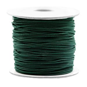 Elastiek 0.8mm dark green