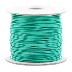 Elastiek 0.8mm turquoise green