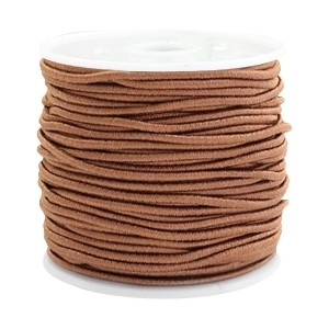 Elastiek 1.5mm chestnut brown