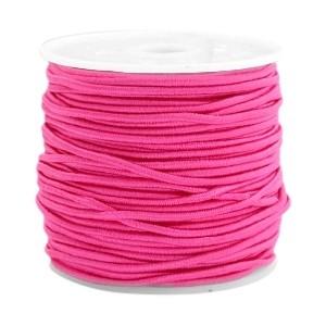 Elastiek 1.5mm light fuchsia pink