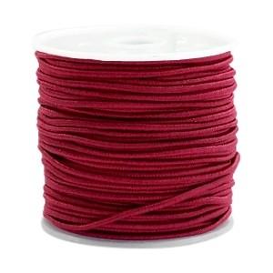 Elastiek 1.5mm port red