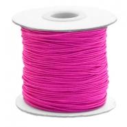 Elastiek 1mm cherry pink