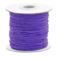 Elastiek 1mm imperial purple
