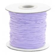 Elastiek 1mm lavender purple