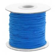 Elastiek 1mm princess blue