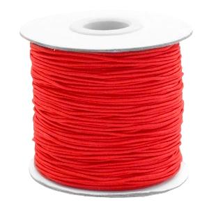 Elastiek 1mm red