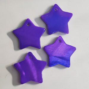 Hanger ster paars
