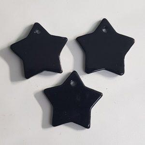 Hanger ster zwart