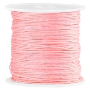 Macramé draad 0.8mm roze perzik