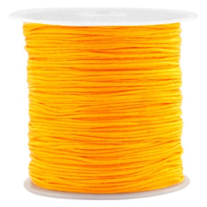 Macrame draad 0.8mm warm yellow