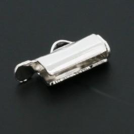 Miyuki eindkapje 9mm zilver