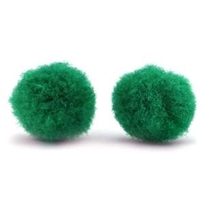 Pompoms 15mm green