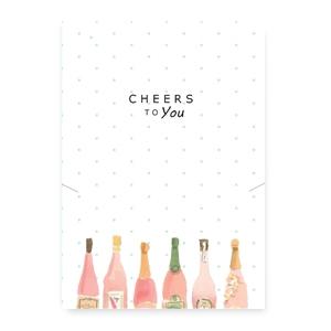 Sieraden wenskaart cheers to you