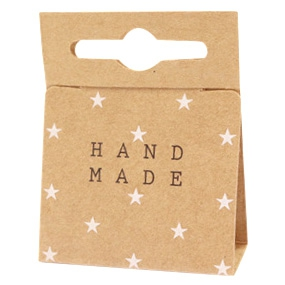 Sieradenkaartje handmade