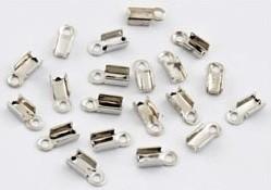 Veterklem zilver 9x4mm