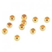 DQ knijpkraal 2.5mm goud
