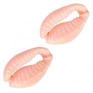 Kauri schelp sweet coral peach