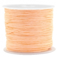Macramé draad 0.8mm apricot orange