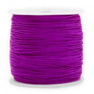 Macramé draad 0.8mm purple