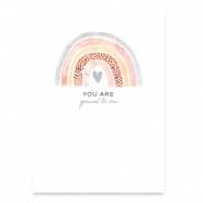 Sieraden wenskaart You are special to me