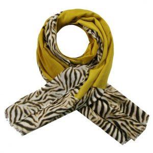Sjaal tijger oker